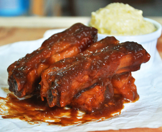 Oven-Baked BBQ Pork Ribs