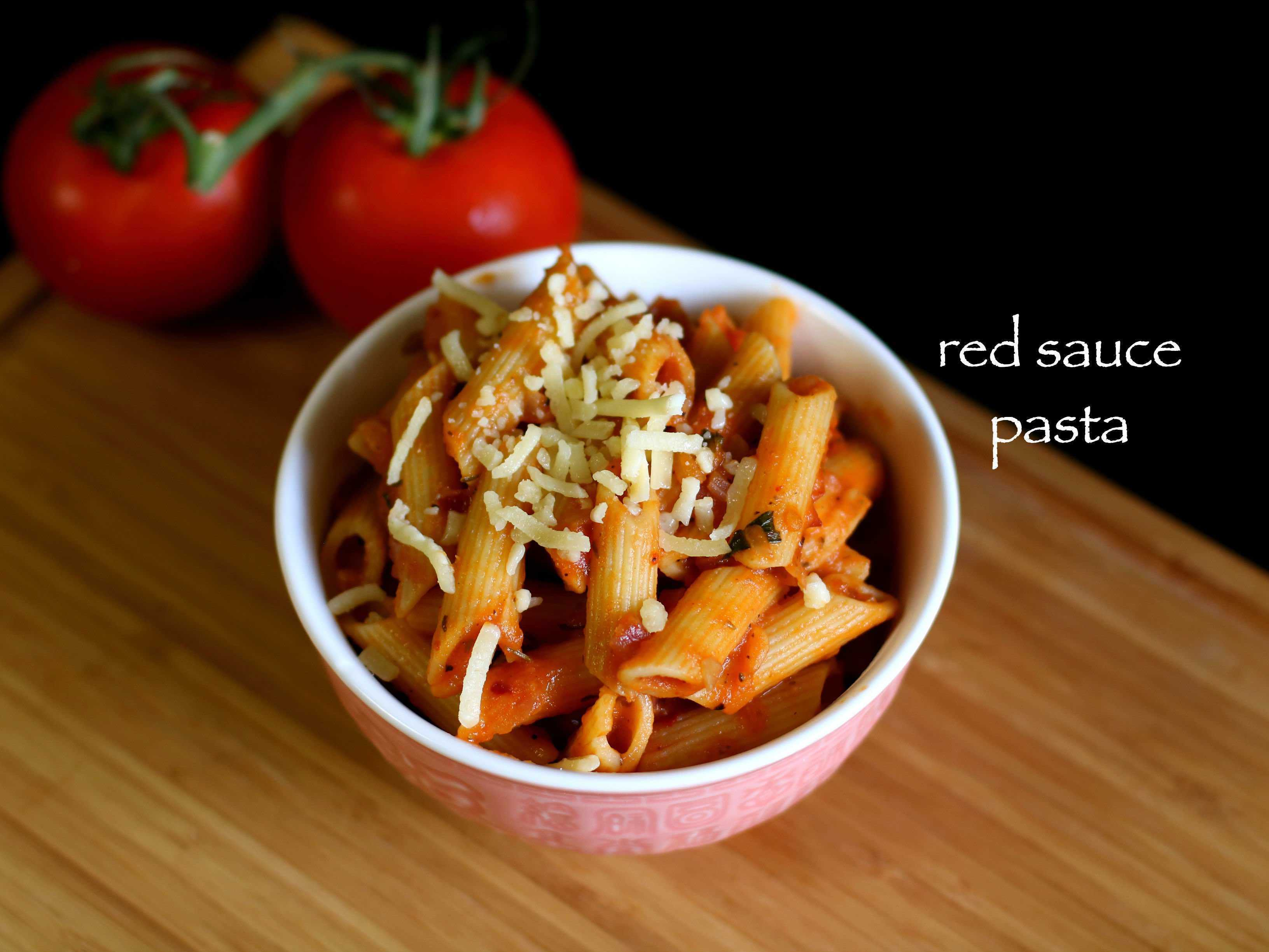red sauce pasta recipe | pasta in red sauce recipe | tomato pasta recipe