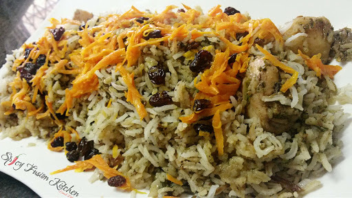 Afgani Chicken Pilau (Friday Lunch)