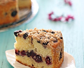 Blueberry Crumble Cake 蓝莓奶酥蛋糕