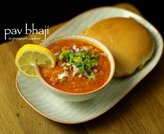 pav bhaji recipe in cooker | quick & easy pav bhaji recipe
