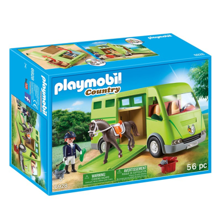 Playmobil6928 Hästtransport