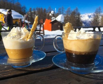 Bombardino Drinking, Snow And Ski Fun in Sauze d'Oulx