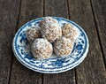 Coconut, Date and Almond Balls