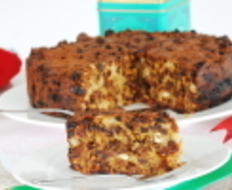 Clean Eating Christmas Cake Recipe