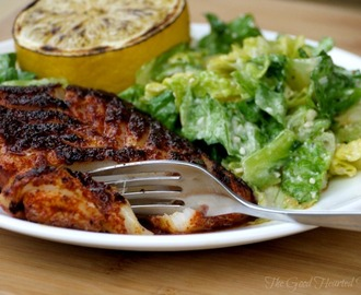 Spicy Pan-fried Blackened Rockfish