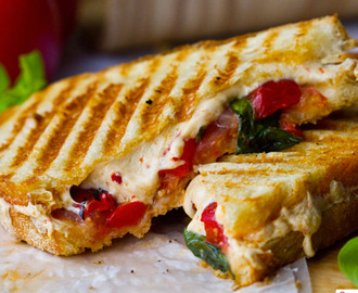Grilled cheese Vegan