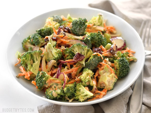 Salade de broccoli