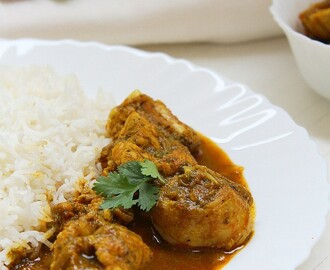Chutney Chicken Curry!! Pressure Cooker Version