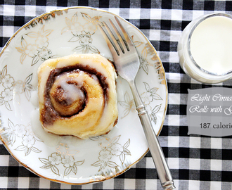 Light Cinnamon Rolls – Eggless
