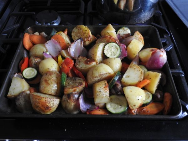 Roast Mixed Vegetables