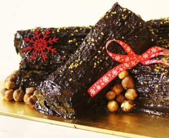 Christmas Chocolate Log | Tronco de Chocolate de Natal