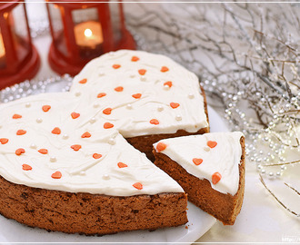 Gingerbread Carrot Cake