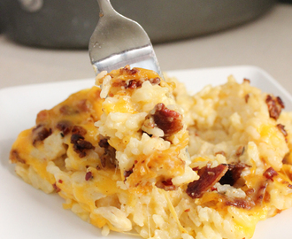 Cheesy Chicken and Rice