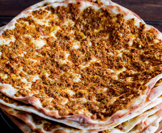 Lahmacun or Turkish Meat Pies Recipe