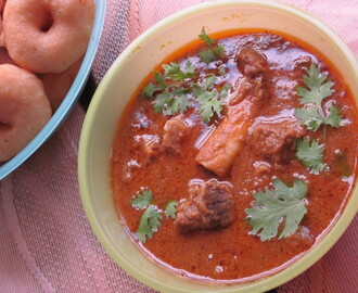 ANDHRA SPICY MUTTON CURRY