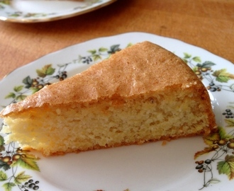 sugar-free lemon cake