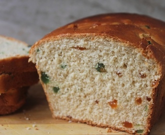 Sweet Tutti Frutti Bread Recipe - Fruit Bread Recipe