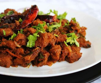 BEEF DISHES  - BEEF PERALAN / KERALA BEEF FRY