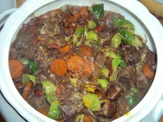 Best Beef and Red Wine Stew-Wonderful for a Sunday Lunch