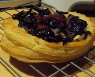 Puff Pastry Made by My Own Hand- Lets Make Pissaladiere - French Pizza