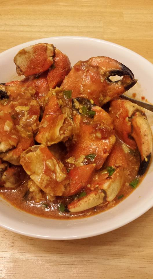 Chili Crab Claws!
