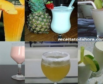 5 Receitas de Drinks Para as Festas