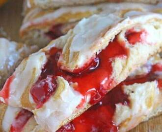 Lemon Cherry Cheese Danish