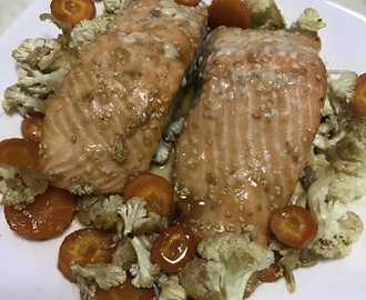 One Pan Teriyaki Salmon