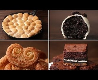 4 Easy 3-Ingredient Desserts