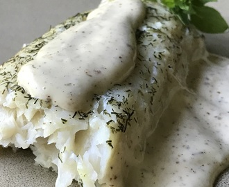 Baked Haddock with Lemon Dill Aioli