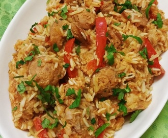 Chicken & Chorizo Jambalaya – Mad Monday