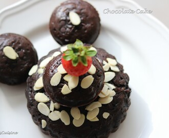 Chocolate Cake (Eggless and Butterless)