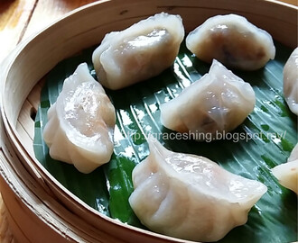 菜粿 Steamed Vegetable Dumplings