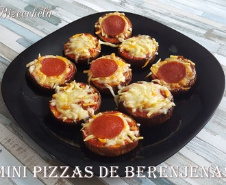 MINI PIZZAS DE BERENJENAS