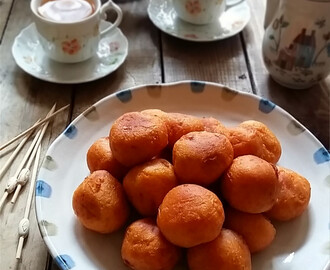番薯年糕球 Sweet Potato Balls with Nian Gao