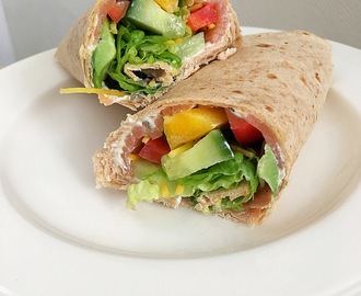 ❤ Zalm avocado wraps