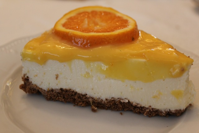 Cheesecake de citrinos