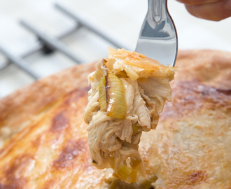 Gluten-Free Chicken & Leek Pie