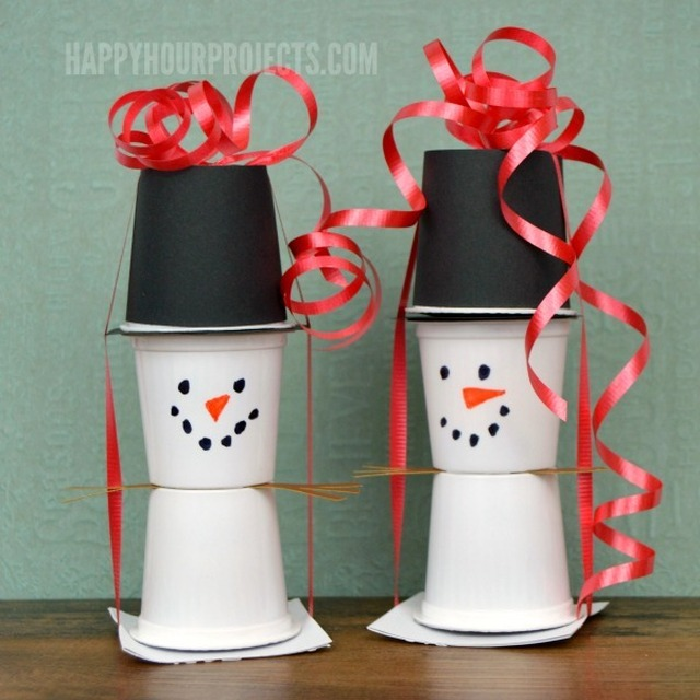 Snowman KCup Crafts | Great Last-Minute Christmas Food Gifts