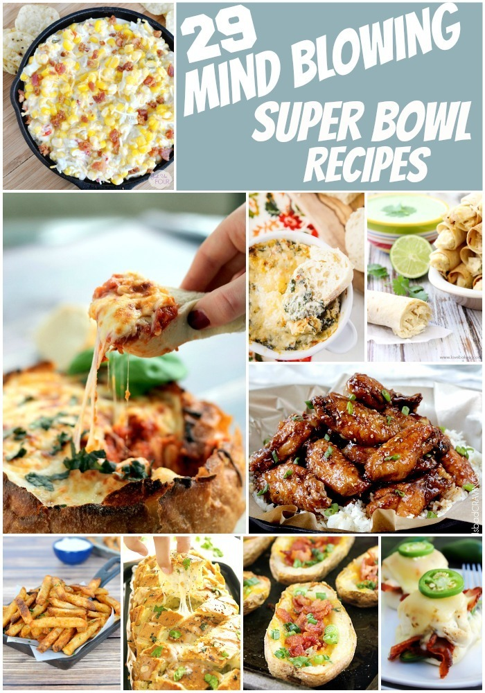 29 Super Bowl recipes