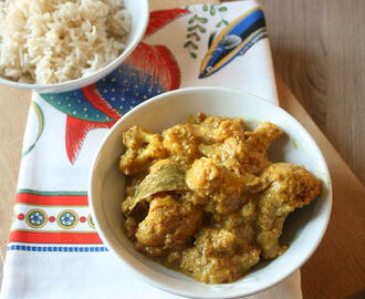 Curry di Cavolfiore  – Cauliflower Curry