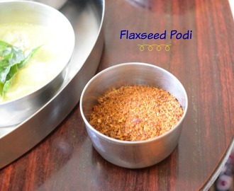 Flaxseed Podi Recipe | Avisa Podi