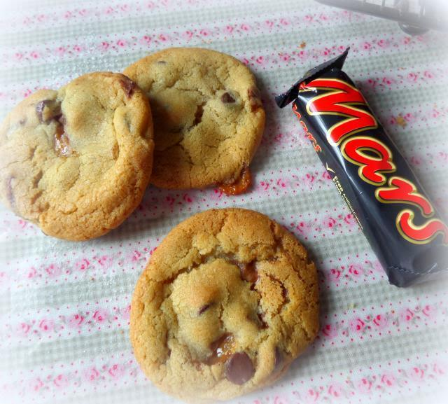 Big Soft Chewy Mars Bar and Chocolate Chip Cookies