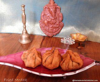 Fried rice in kannada recipes mytaste deep fried modak ganesh special ccuart Choice Image