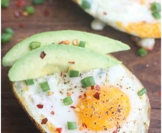 Breakfast Potato Boats