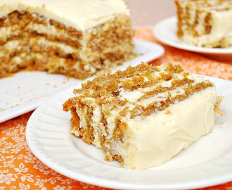 Easy Layered Carrot Cake