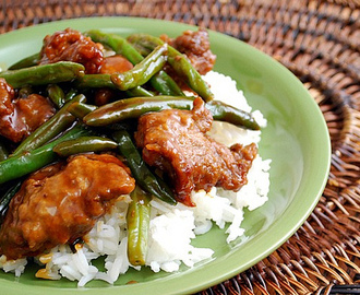 Beef & Green Bean Stir Fry