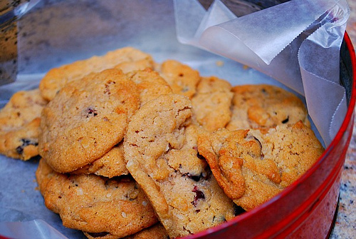 Chocolate Chip 'Chicago' Crunch Cookies
