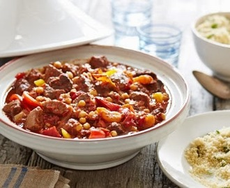 Slow cooked beef tagine recipe
